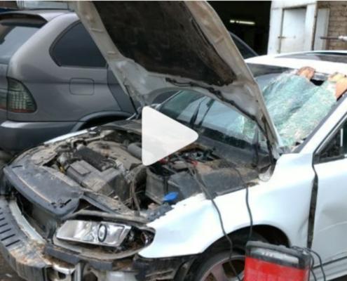 Volvo после ДТП. Восстановление кузова