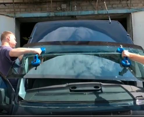 Замена стекла форд Транзит в автосервисе