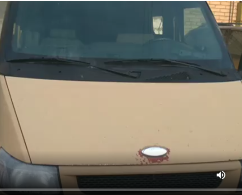 Кузовной ремонт инкассатороской машины