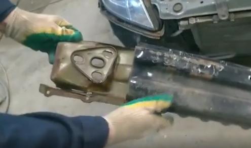 Ремонт силового бампера